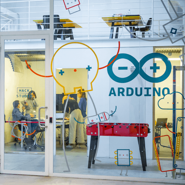 Arduino in Toolbox Coworking