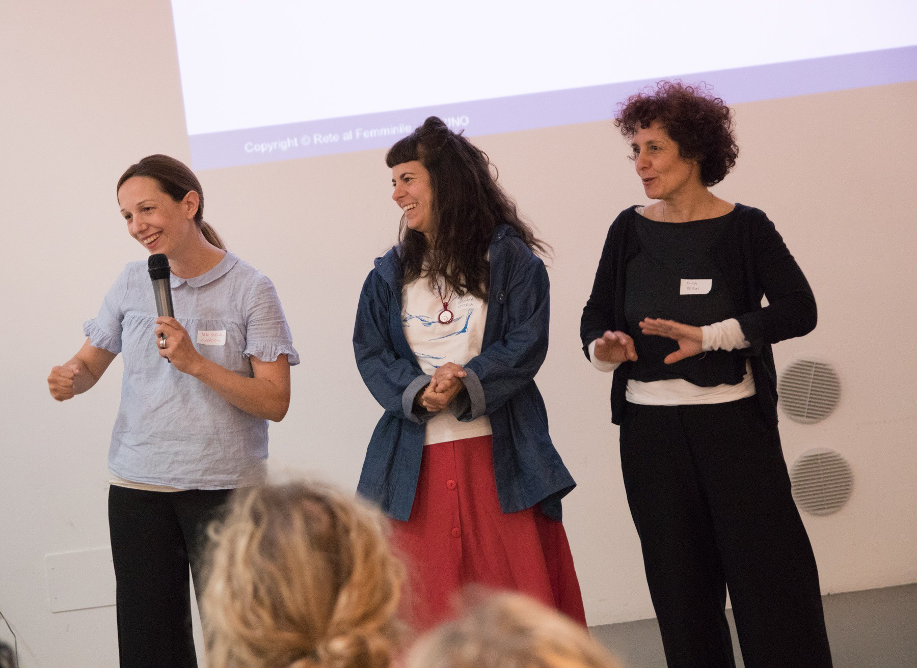 Rete al Femminile - Public speaking per il business
