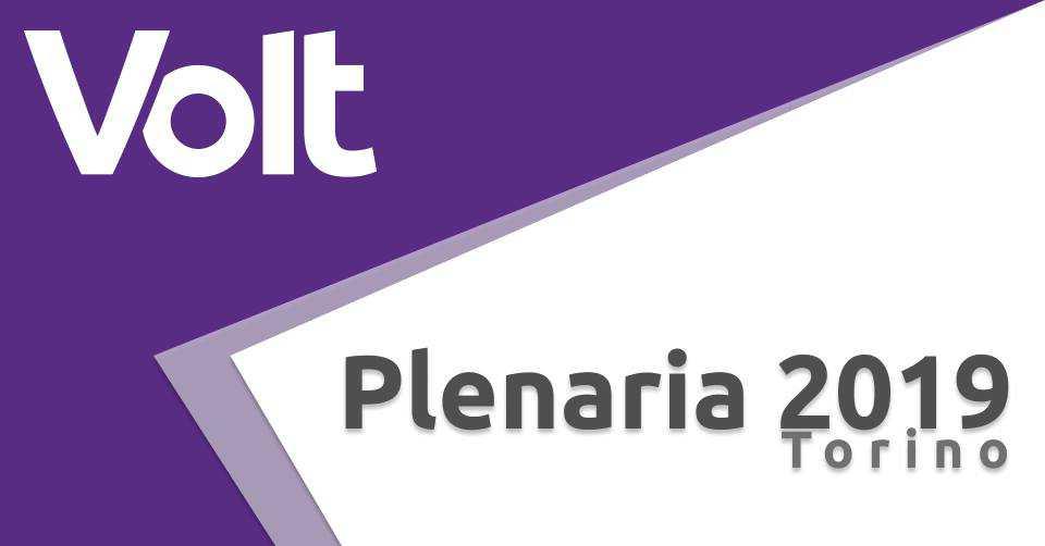 Assemblea plenaria Volt Italia 2019