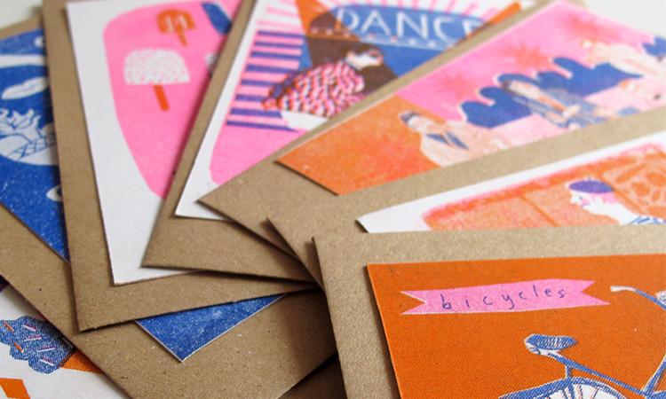 Print Party | X-mas Star Envelopes
